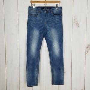Max Jeans | Boyfriend High Mom Waist Skinny Jeans